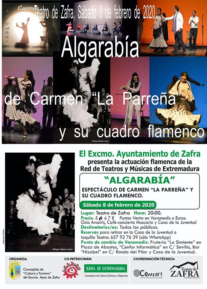 Algarabía flamenco en Varamedís Teatro de Zafra