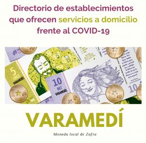 Directorio de establecimientos que ofrecen servicio a domicilio frente al COVID-19